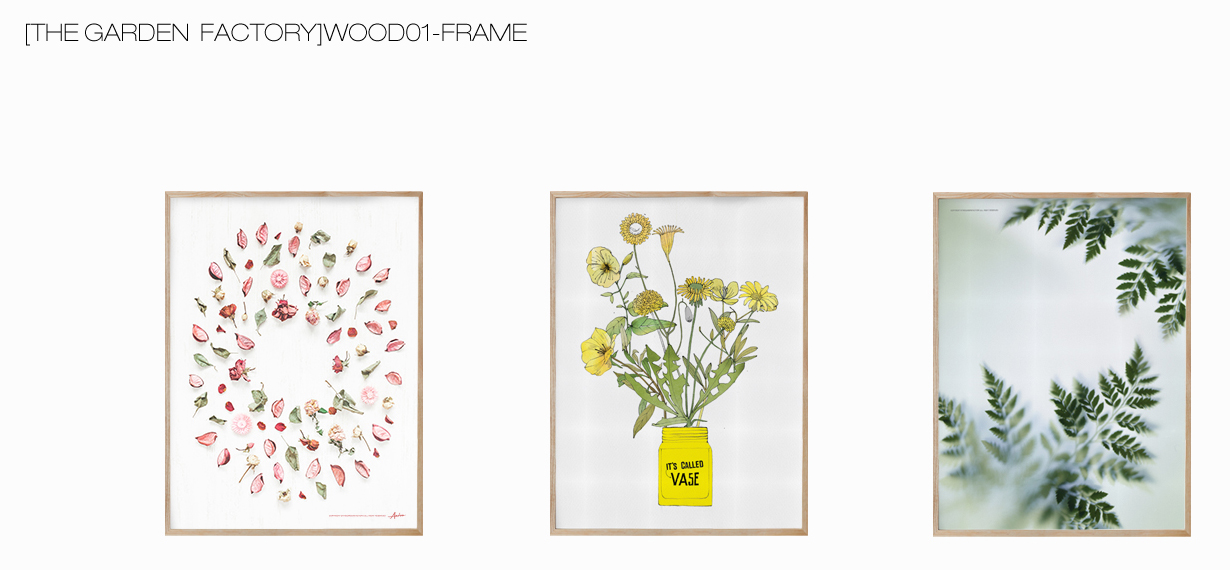 [THE GARDEN FACTORY]WOOD01-FRAME