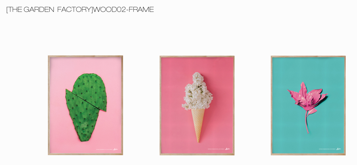 [THE GARDEN FACTORY]WOOD02-FRAME