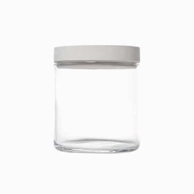 [SOIL] FOOD CONTAINER GLASS - White