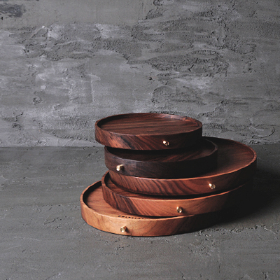 [HOLZKLOTZ] BUTTON RING-TRAY