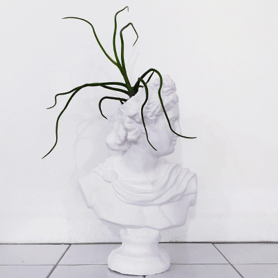 APOLLO-PLASTER POT PLANT