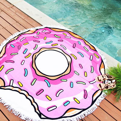 DOUGHNUT-BEACH TOWEL