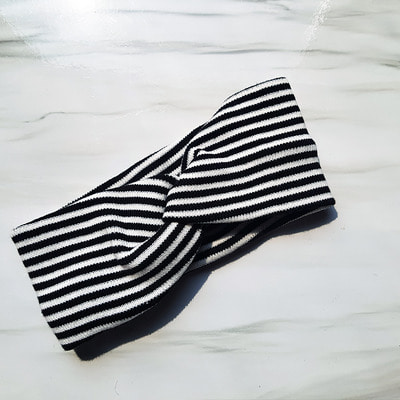 STRIPE-HAIRBAND